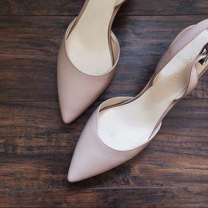 cac58741288 Nine West Shoes - Nine West • Epiphany nude blush pink slingbacks